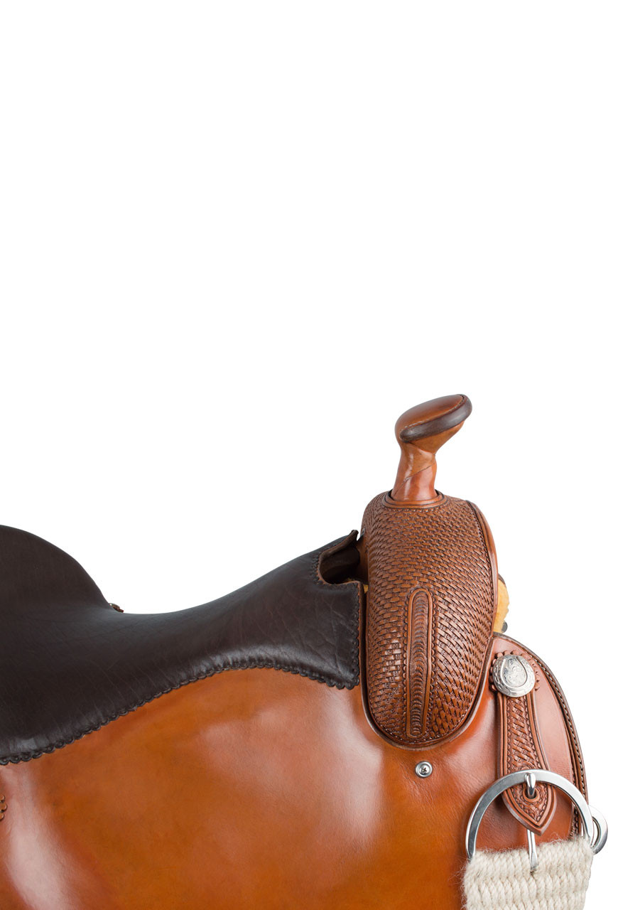 Pinto Ranch Ranch Cutting Western Saddle