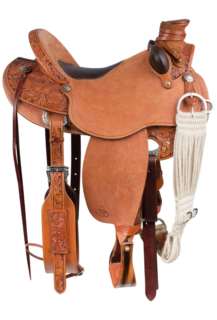 Pinto Ranch Ray Hunt Wade Western Saddle Pinto Ranch