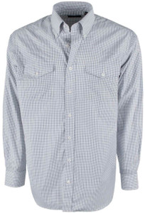 Pinto Ranch YY Collection Black and White Check Shirt - Front