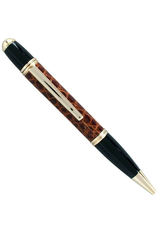 Alligator Executive Pen - Cognac