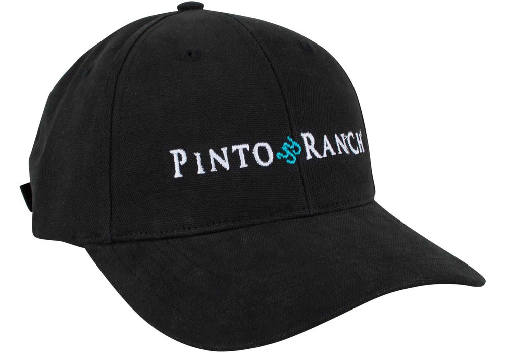 Gift - Pinto Ranch Black Ball Cap