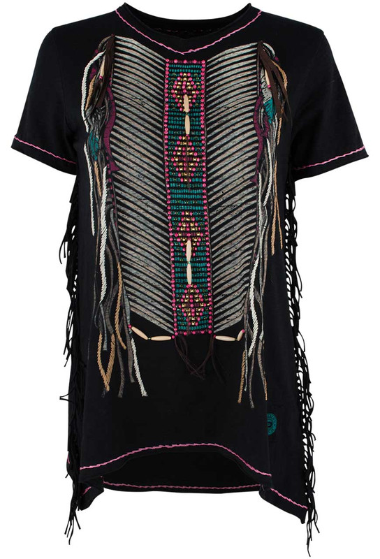 Double D Ranch Warrior Armour Top - Front