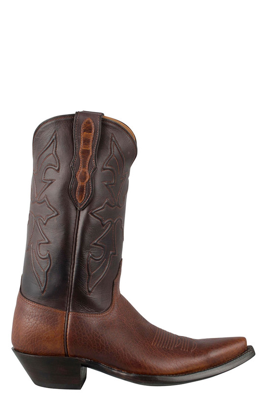 24a4038a0 Black Jack for Pinto Ranch Men's Tan Buffalo Shoulder Boots - Pinto Ranch