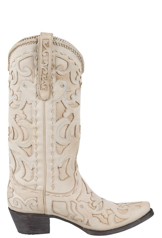 Lane Women's Bone Robin Boots - Side