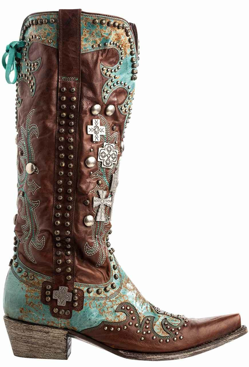 13a61780fb0 Double D Ranch by Old Gringo Ammunition Boots