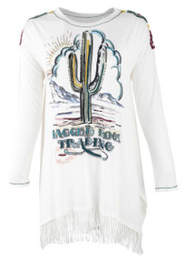 Double D Ranch Ragged Rock Trading Top - Front
