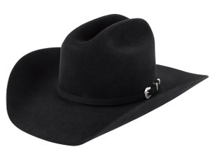 American Hat Co. 7X Lucky Cattleman Felt Hat - Black