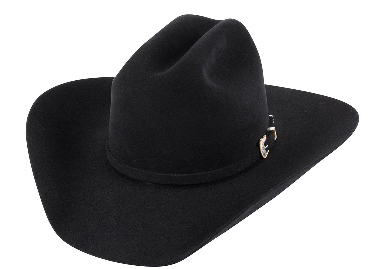 American Hat Co. 10X Felt Hat - Black - Pinto Ranch 2cb866b5d10