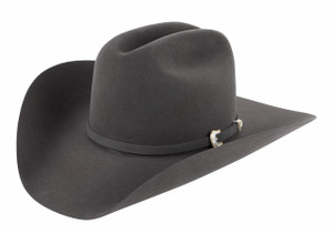 American Hat Co. 10X Felt Hat - Steel -Side
