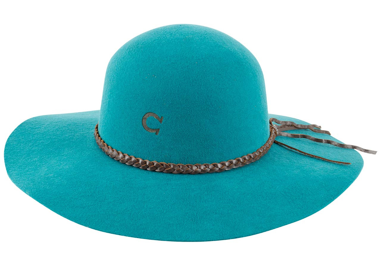 fe016962fc69c Charlie 1 Horse Free Spirit Hat - Teal - Pinto Ranch
