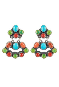 Rocki Gorman Multi Stone Mini Chandelier Earrings