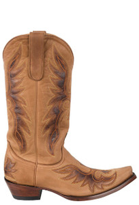Old Gringo Women's Cognac Brave Boots - Side