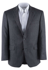 Gray Check Western Sport Coat - Front