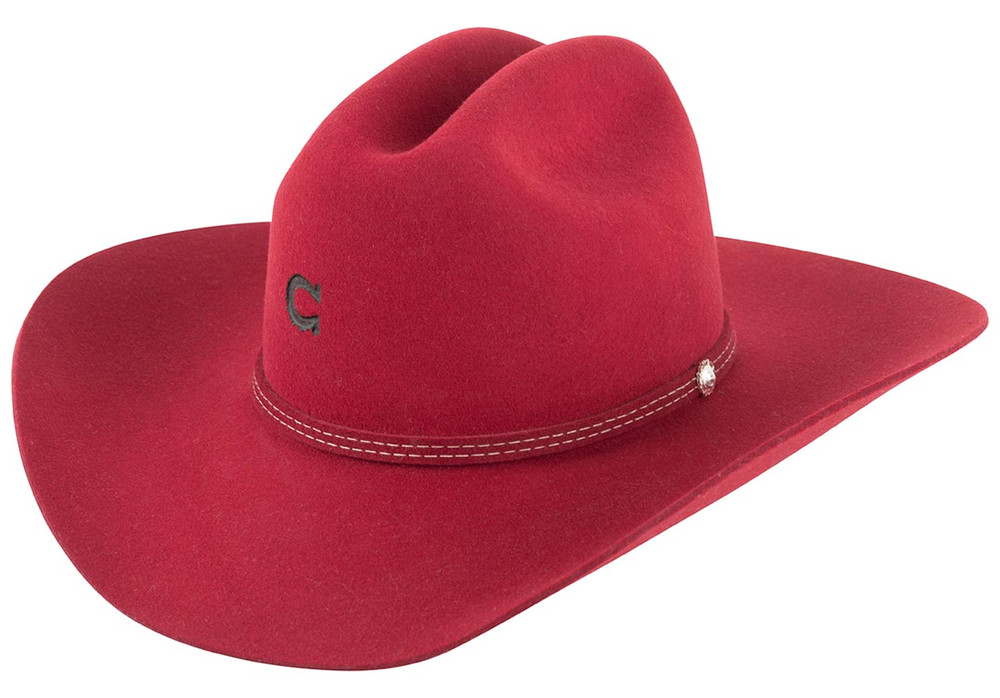 Charlie 1 Horse Dimestore Cowgirl - Red - Front