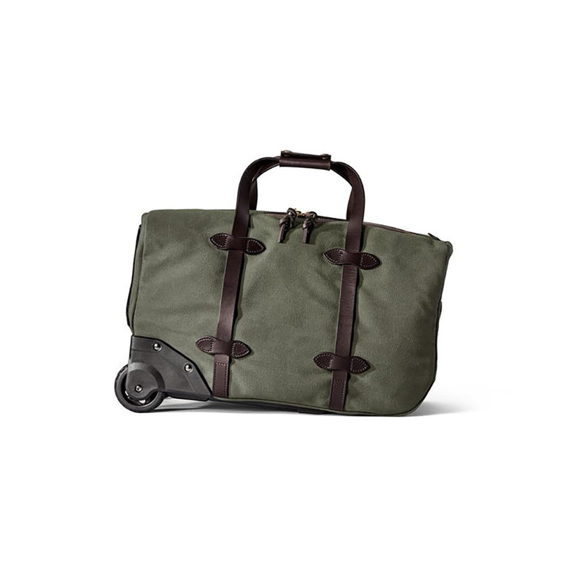 Filson Small Rolling Duffle - Otter Green - Front