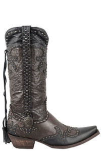 Double D Ranch by Old Gringo Brass Badlands Boots - Side