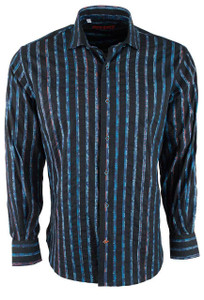 Pinto Ranch Ink Linear Shirt - Front