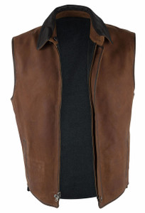 Madison Creek Bourbon Memphis Reversible Vest - Front
