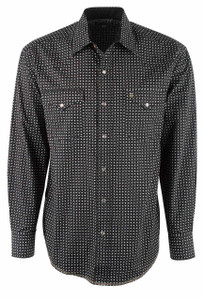 Stetson Black 007 Snap Shirt - Front