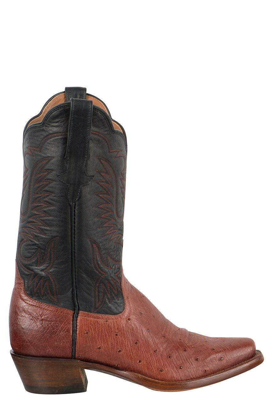 Rios Of Mercedes Women S Almond Americano Smooth Ostrich Boots