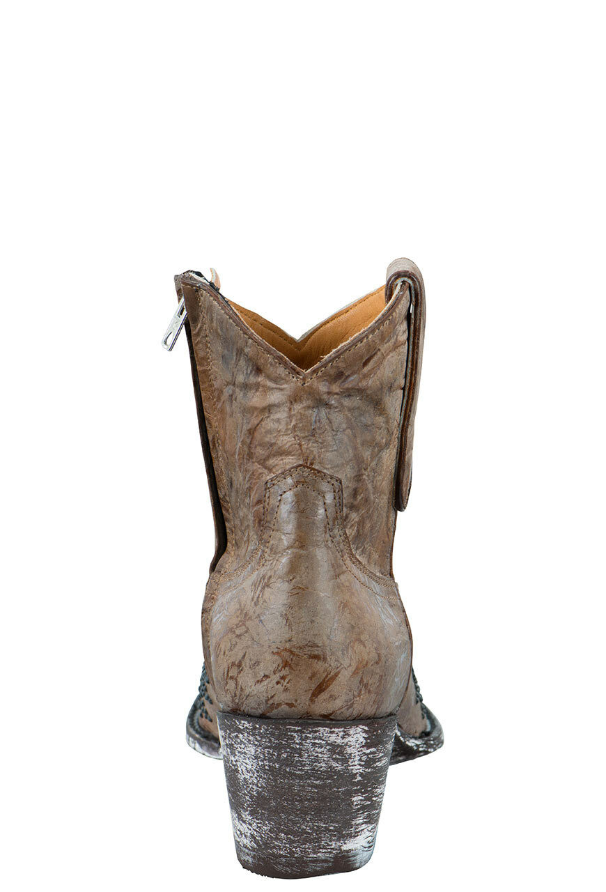 9fb9fb2f747 Old Gringo Women's Eagle Crystal Zipper Boots