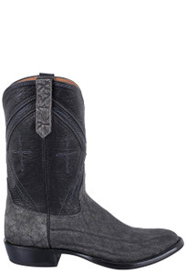 Rios of Mercedes Men's Granite Safari Elephant Roper Boots - Side
