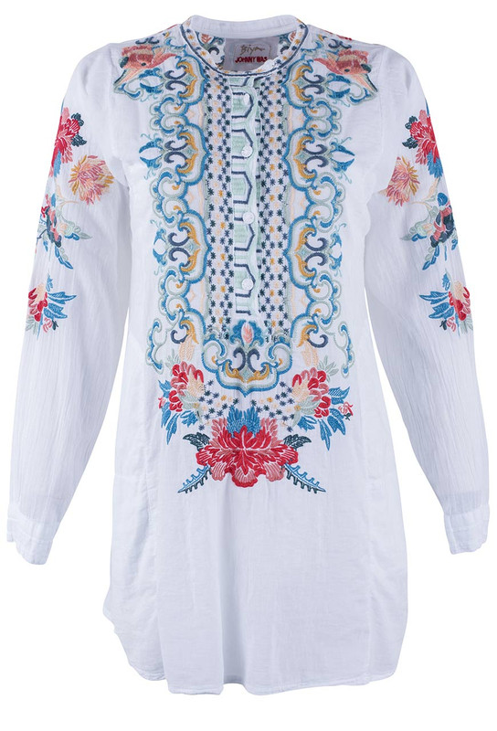 Biya Georgina Cotton Tunic  - Front
