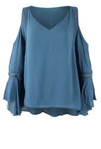 Bronte Lelani Cold Shoulder Top
