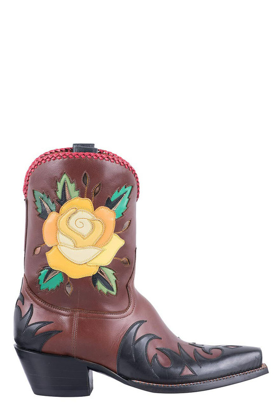 ROCKETBUSTER ROSE SHORTIE BOOTS