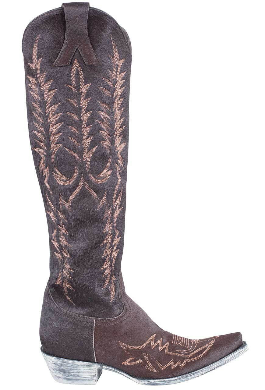 0e98161602f Old Gringo Women's Torino Chocolate Hair-on-Hide Mayra Boots