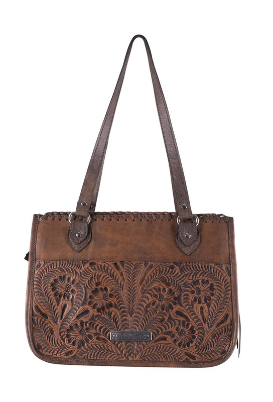 American West Thunderbird Ridge Zip Top Tote - Hanging