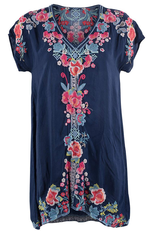 Johnny Was Pari Tunic - Front