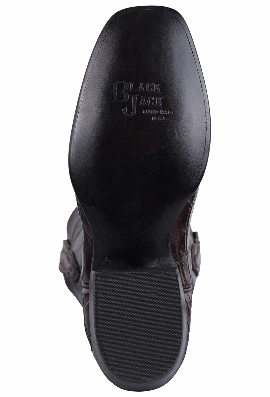 a2b4919d389 Black Jack for Pinto Ranch Men s Chocolate Gator Boots - Pinto Ranch