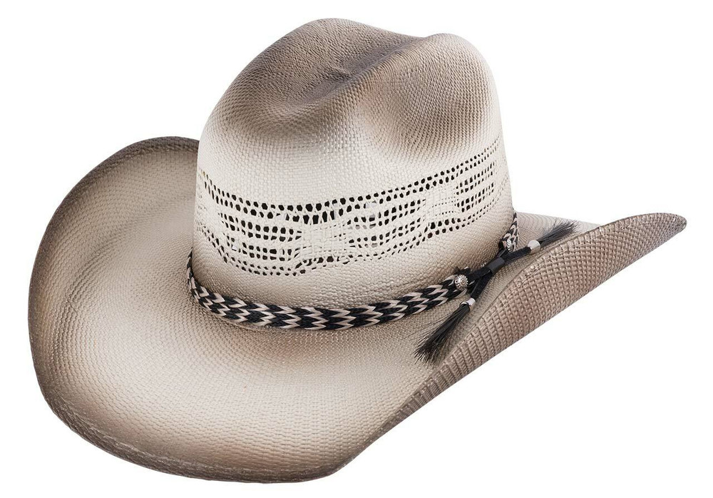 a6625cb16d3 Bullhide Natural Raising Sand Straw Hat - Pinto Ranch