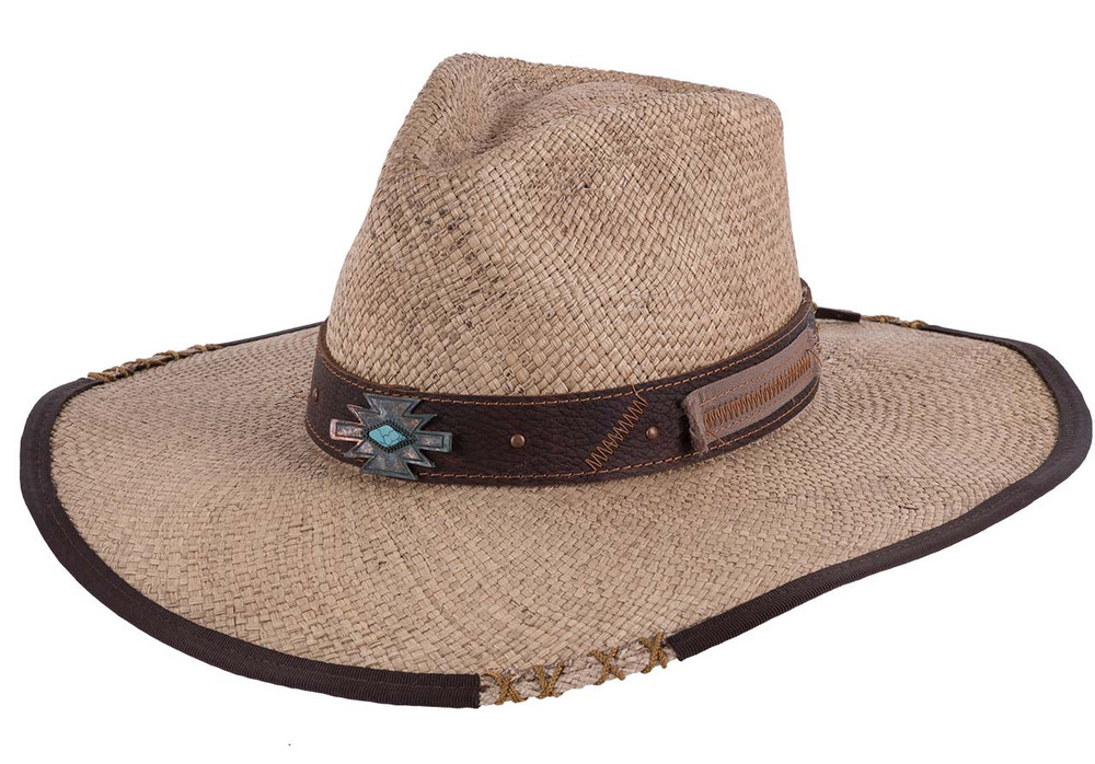Bullhide No Rules Natural Panama Straw Hat