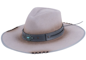 Bullhide Messed Up Silver Belly Wool Hat
