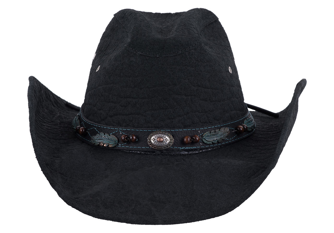 Bullhide Serenade Black Leather Hat - Pinto Ranch 31d4a0fcb10