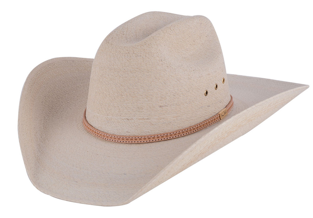 Resistol George Strait Centerline Straw Hat - Side