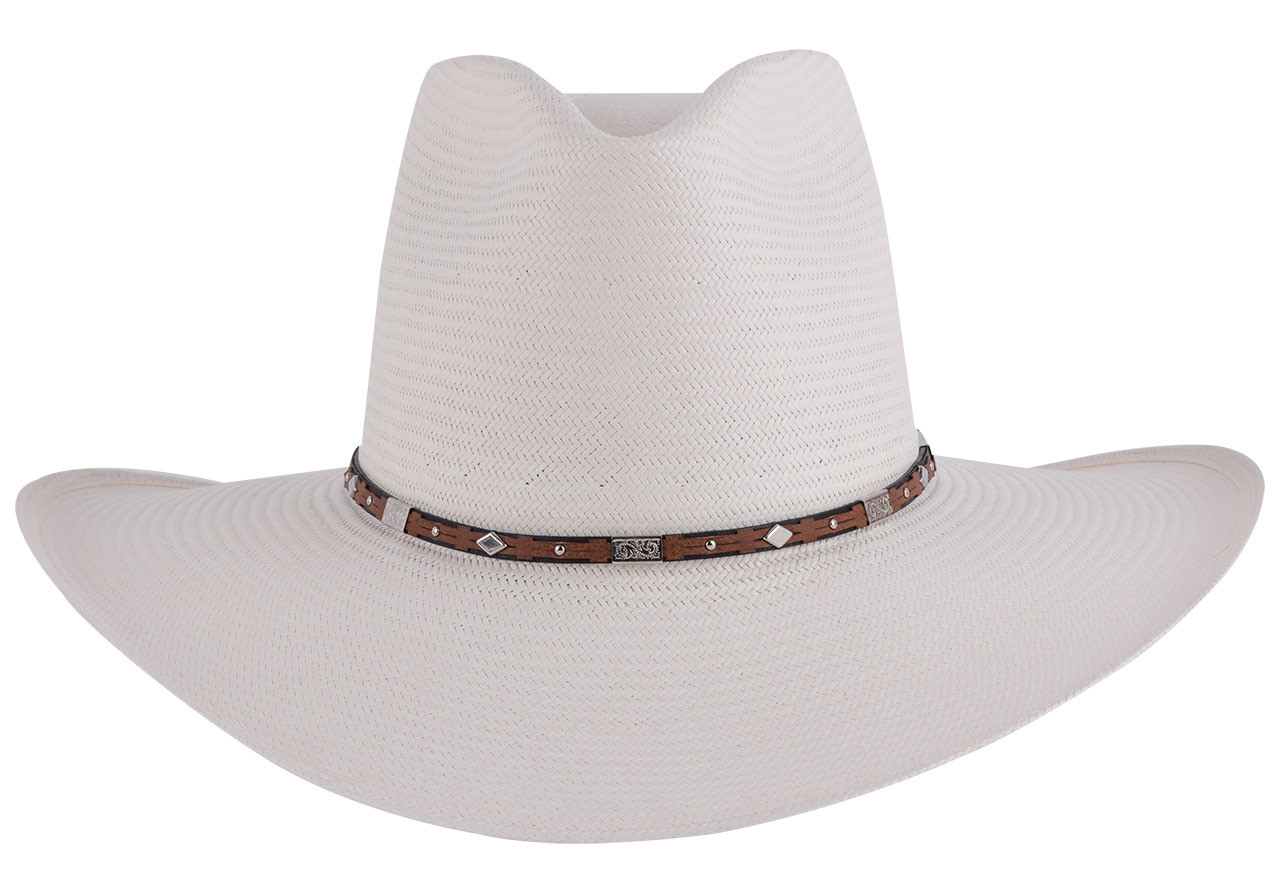 Stetson 8X Silver Horn Straw Hat - Pinto Ranch 5658c321c56