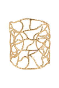 Christina Greene Newberry Wire Cuff - Front