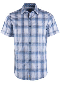 Robert Graham Torres Short Sleeve Sport Shirt - Front
