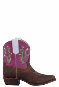 Macie Bean Kids Cactus Snip Boots - Side