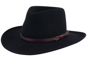 c63134a3634 Stetson Crushable Black Hawk Outdoor Hat - Pinto Ranch