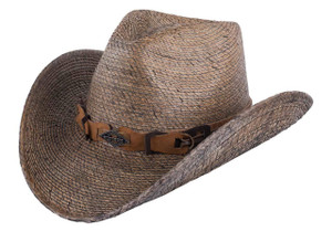 Stetson Monterrey Bay Palm Leaf Straw Hat - Side