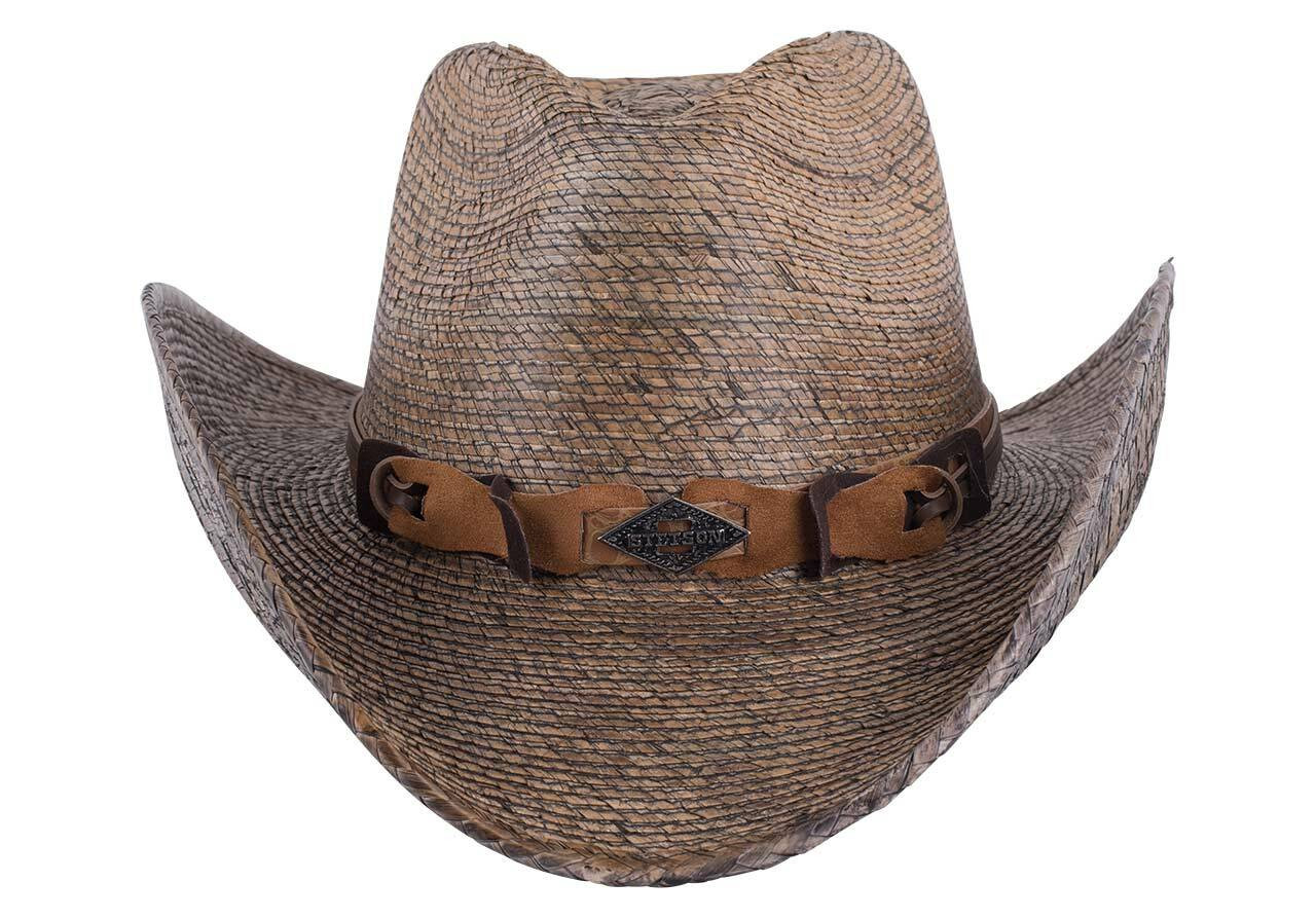 d55b8f6f04d6d Stetson Monterrey Bay Palm Leaf Straw Hat - Pinto Ranch