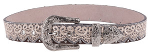 Lace and Rhinestone Belt