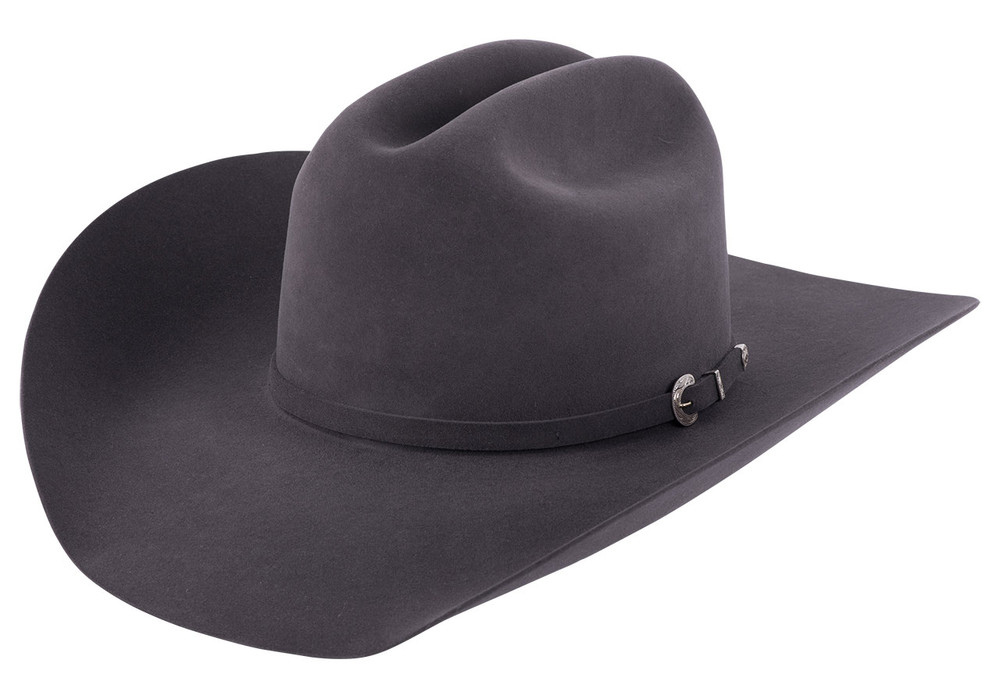 American Hat Co. 40X Felt Hat - Steel - Pinto Ranch c79e925890f8