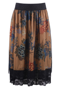 Isle Gold Rush Skirt - Front