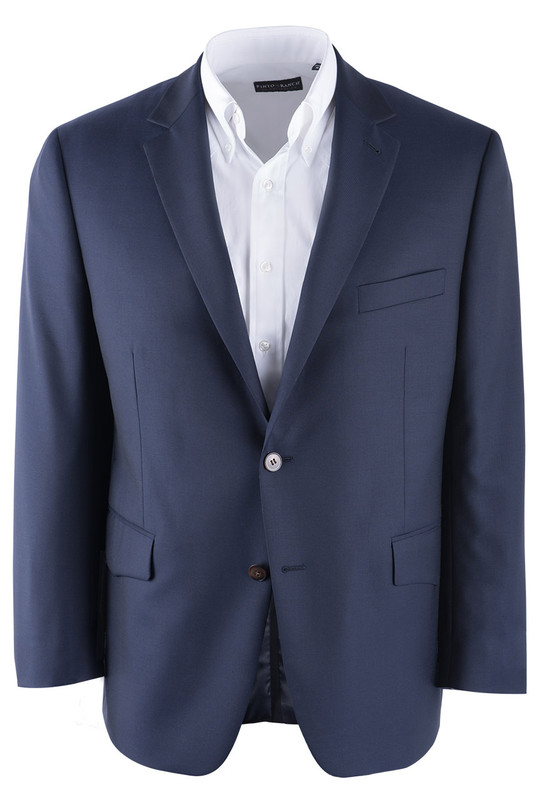 Paul Betenly Navy Western Sport Coat - Front