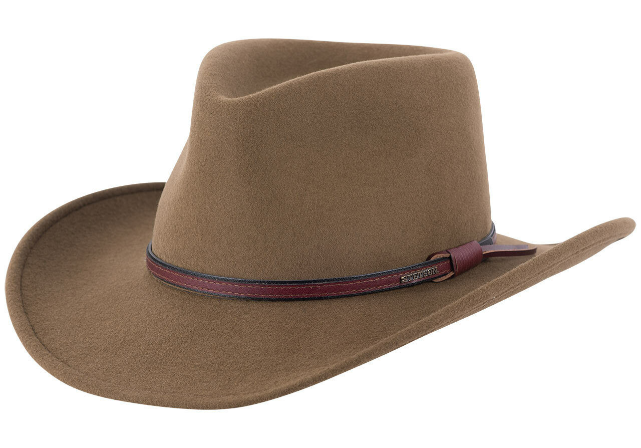 8bc7ead7 Stetson Crushable Bozeman Outdoor Hat - Brown - Pinto Ranch
